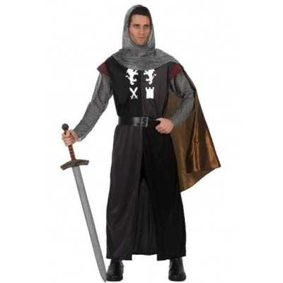 Middeleeuws ridder verkleed feest outfit heren