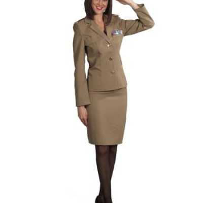 Militair outfitje dames