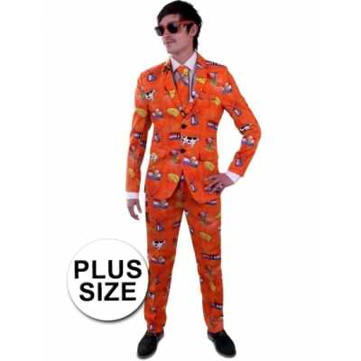 Nederland feest outfit grote maat outfit heren