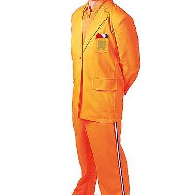 Oranje feest outfit Bobo