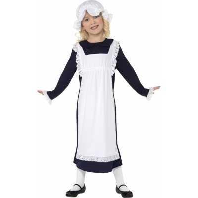 Ouderwets weesmeisje verkleedkleding