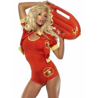 Pamela Baywatch strandwacht outfitje