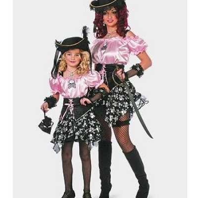 Piraat Carnavals kleding dames
