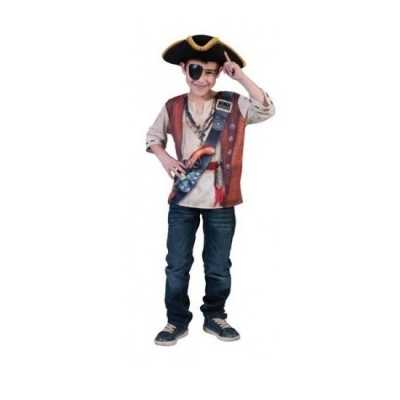 Piraten t-shirt kinderen