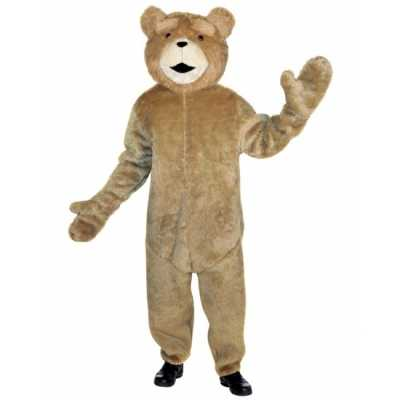 Pluche beren feest outfit ted