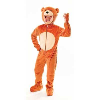 Pluche beren feest outfit