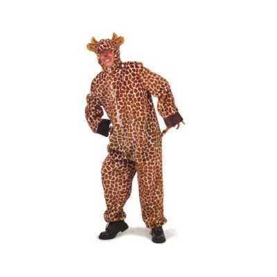Pluche giraffe feest outfits
