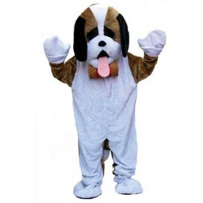 Pluche honden outfit