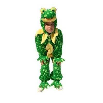 Pluche kikker feest outfit kids