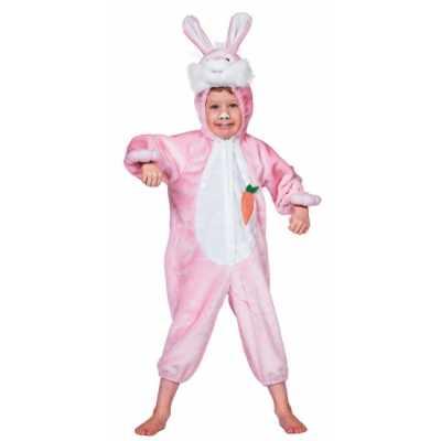 Pluche konijn outfit kinderen