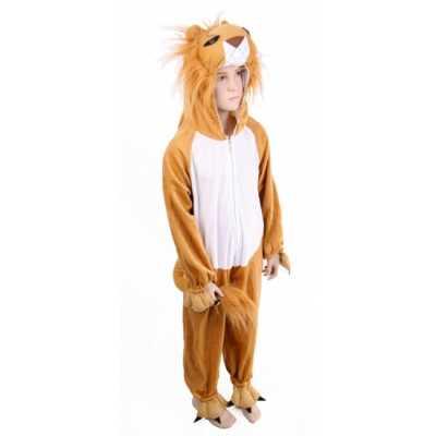 Pluche leeuwenpak kinderen