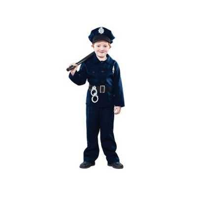 Politie agent feest outfit kinderen