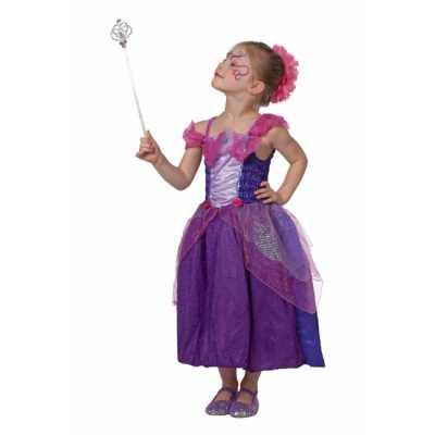 Prinsessen jurk meisjes paars