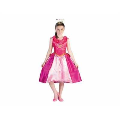 Prinsessia verkleed feest outfit roze