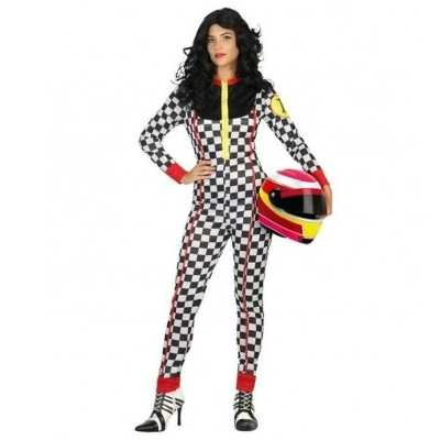 Race coureur verkleed outfit/kostuum dames