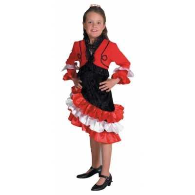 Rood flamengo jurkje meiden