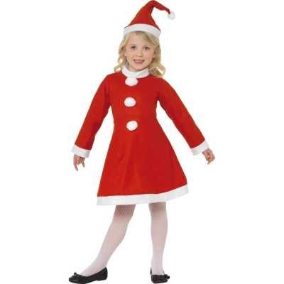 Rood kerst feest outfit meiden