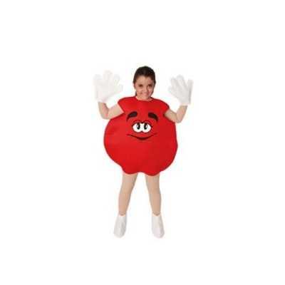 Rood snoep snoepje kinder feest outfit
