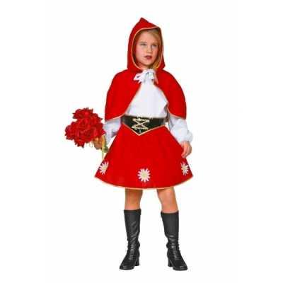 Roodkapje feest outfit kinderen