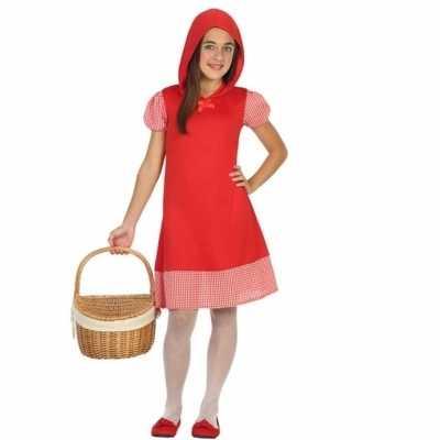 Roodkapje verkleedjurkje meisjes