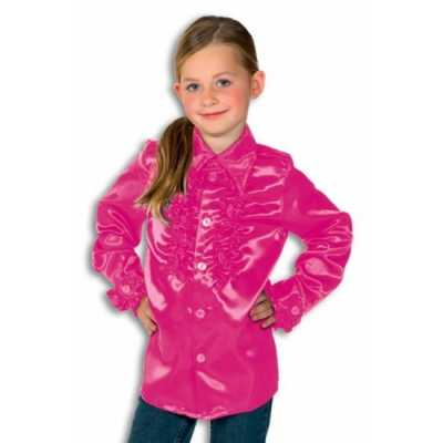 Rouche blouse Rouches blouse roze jongens roze