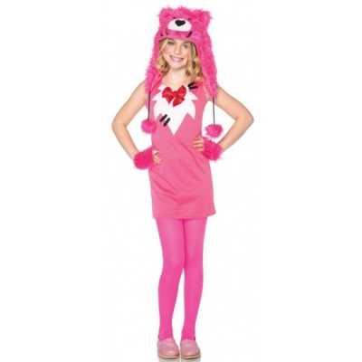Roze berenpakje meisjes