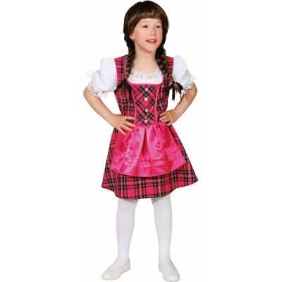 Roze Oktoberfest jurk kinderen