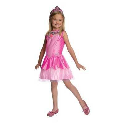 Roze prinsesen jurkje meisjes