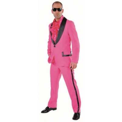 Roze smoking feest outfit heren