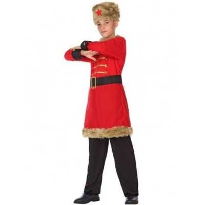 Russische kozakken verkleed feest outfit jongens