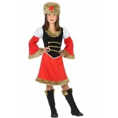 Russische kozakken verkleed jurk meisjes