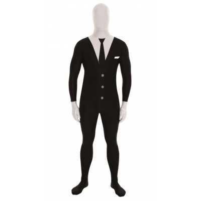 Second skin outfit businessman zwart