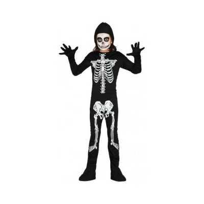 Skelet outfit kinderen