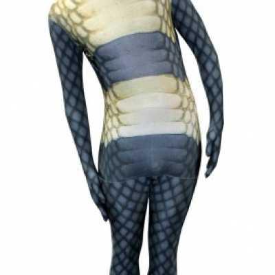 Slangen morphsuits volwassenen