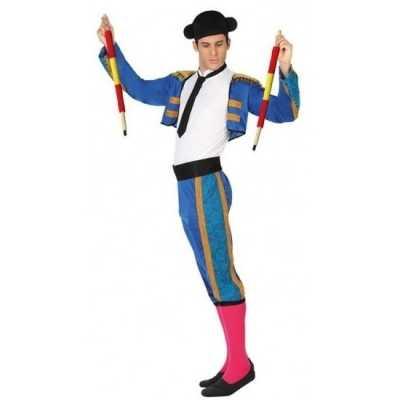 Spaanse matador/stierenvechter verkleed feest outfit heren