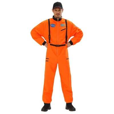Space overall oranje heren
