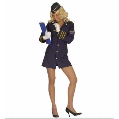Stewardess outfitje carnaval dames