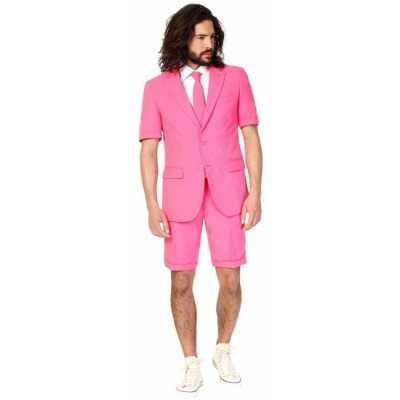 Summersuit roze heren