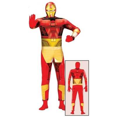 Superheld metalen man feest outfit volwassenen