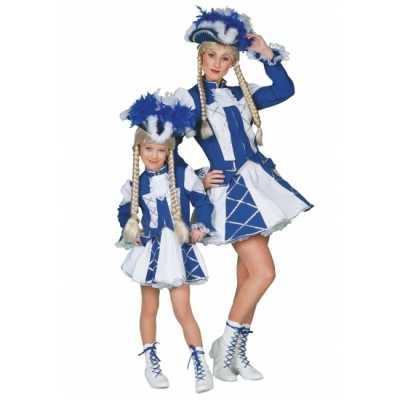 Twirl feest outfit blauw meiden
