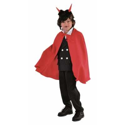 Vampier feest outfits cape rood