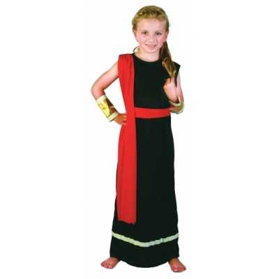 Verkleed feest outfit romeins meisjes