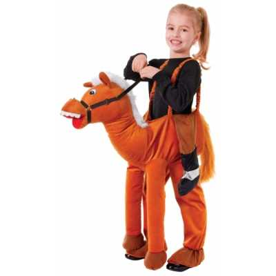 Verkleed stap paard feest outfit kids