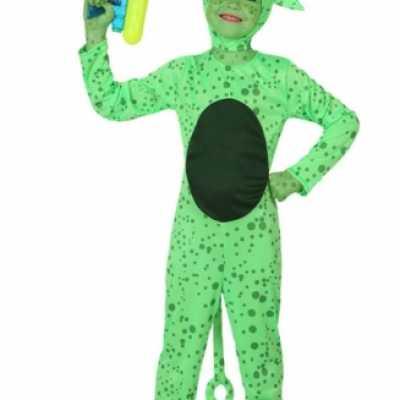 Verkleedkleding Alien feest outfit kind