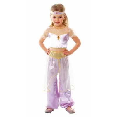 Verkleedkleding paars Oosterse prinses
