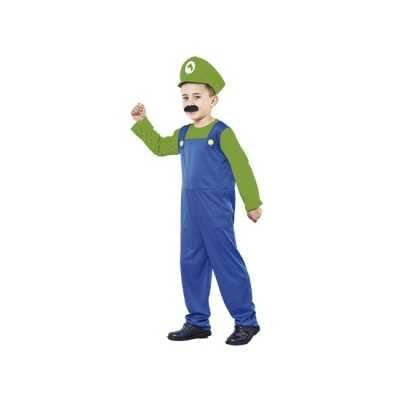 Voordelig groen Loodgieter feest outfit jongens