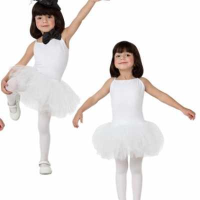 Witte tutu jurkje meisjes