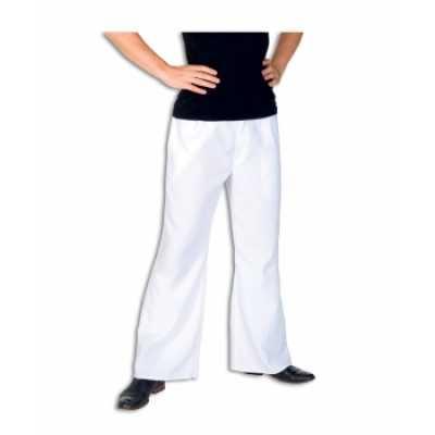 Witte verkleed broek heren