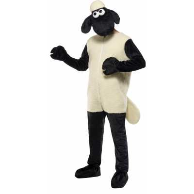 Zwarte schapen outfit volwassenen