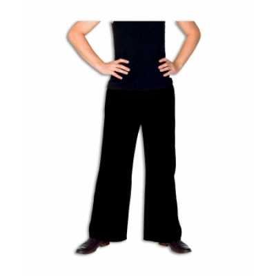 Zwarte verkleed broek heren